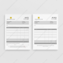 Squarescape Quote Invoice Templates for Business