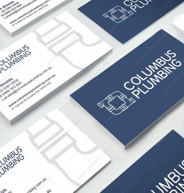 Columbus Plumbing Business Card
