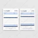 Columbus Plumbing Quote Invoice Template for Business