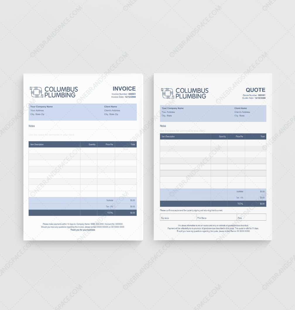 columbus plumbing pty columbus plumbing quote invoice template for business columbusplumbing website lr