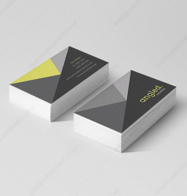 Angled - Business Card Design