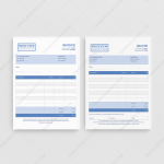 Ridgeview Construction Quote Invoice for Business