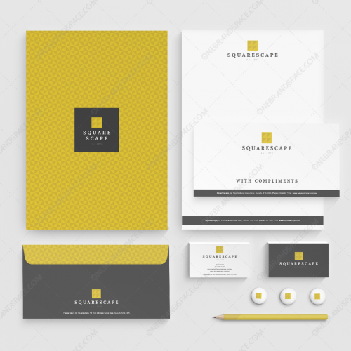 Squarescape Business Logo Package