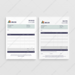 Anglesie Quote Invoice for Business