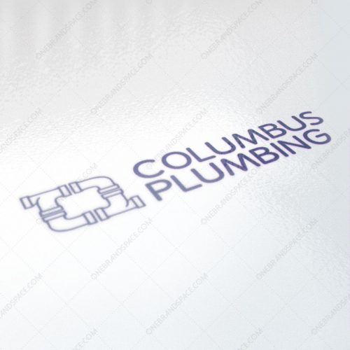 Columbus Plumbing Logo for Business