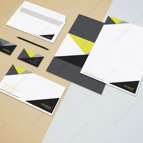 Angled_Brand Identity Design Package