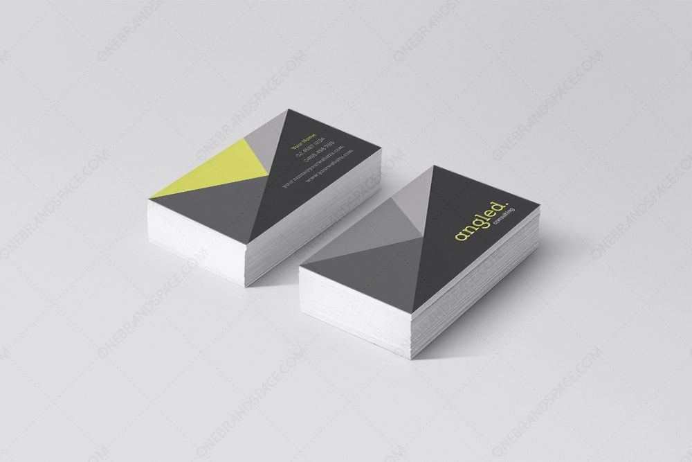 Angled - Business Card Design
