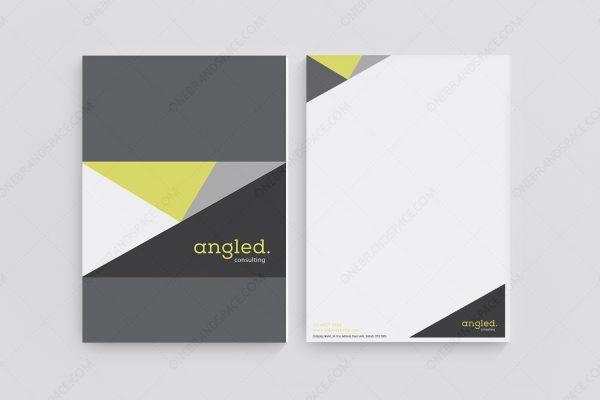 Angled - Letterhead Design