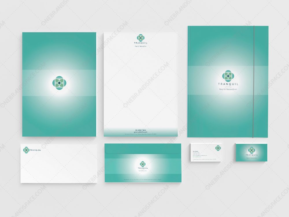 full brand identity package spa